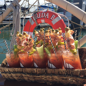 To the Schooner, for So Many Bloody Marys