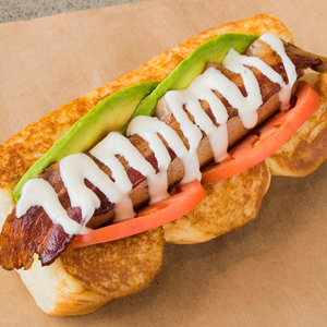 Fancy Pants Hot Dogs by Way of California