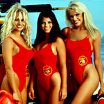 It's a Baywatch Pool Party. Naturally.