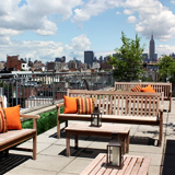 The Roof Deck at Pera