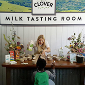 It's a Tasting Room, Only for... Milk