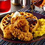 Late-Night Chicken and Waffles