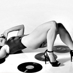 Attractive Women and Vinyl Records