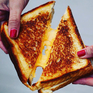 Half-Off Grilled Cheeses From Ms. Cheezious. Carry On.
