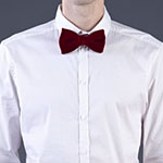 The Festive Felt Bow Tie