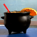 Rum Cauldrons at Malibu Pier Club