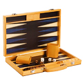 Blue Beech Backgammon Set