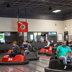 A Night of Beer-Drinking and WhirlyBall-Playing