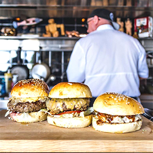 Beach-Adjacent Burgers. Can We Twist Your Arm?