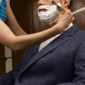 The Straight Razor Shave at Nadine's