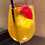 Apple Brandy Sangria at Scholars