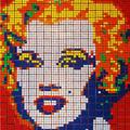Elvis, in Rubik's Cubes