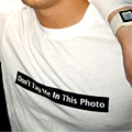 Don't Tag Me in This Photo T-shirt