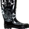 Chooka Dueling Skulls Rain Boots