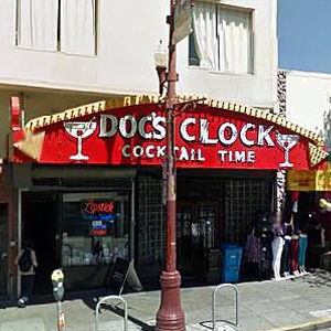 Doc's Clock Is Back a Mere Block Away From Its Old Digs