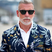Raiding Nick Wooster's Closet for Charity