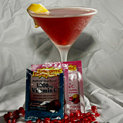 The Pomegranate Emergen-C Martini