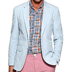 The Item: A Seersucker Blazer