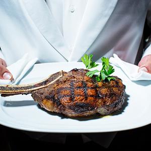 Kobe Steaks With Robotics on the Side