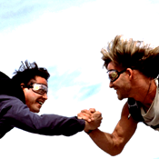 You. Someone Else. Point Break. Laughter.