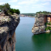 Hell's Gate at Possum Kingdom Lake