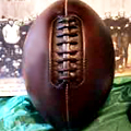 It's an Antique Football. Have At It.