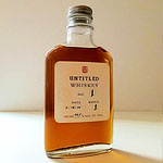 Untitled Whiskey. Sounds Mysterious.