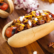 The First Hot Dog Is Back