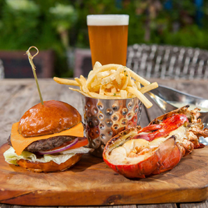 A Burgers-and-Lobster Kind of Destination