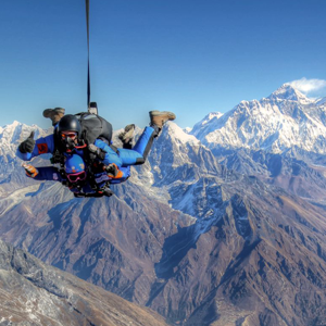 The Eight Most Picturesque Places to Skydive Are...