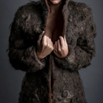 Chest Hair Fur Coat