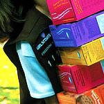 Girl Scout Sells Cookies near Pot Shop