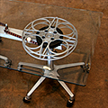 A Film-Reel Coffee Table