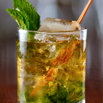 Lapsang Tea Julep at Sweetwater Social
