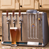 Go Ahead, Add a Three-Tap Bar to Your Kitchen