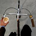 Your Helmet = Gratis Espresso