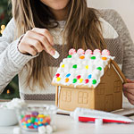Eat Brunch. Build a Gingerbread House.