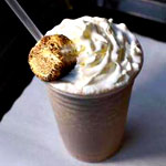 Campfire Milkshake at Burger Dive