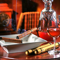 CIGARS, CHAMPAGNE AND COGNAC