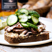 It's a Whiskey-Infused Pork Sandwich