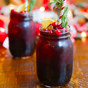 A Holiday-Themed Rooftop, Boozy Advent Calendar and All