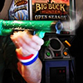 Big Buck Hunter  and Pie at ICOB