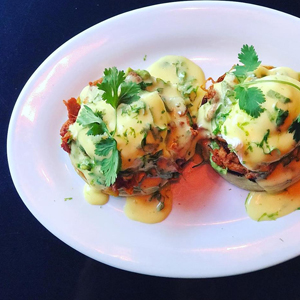 A New Brunch With a Serious Thing for Inventive Benedicts