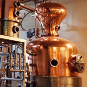 A Downtown Tasting Room That's Full of Gin