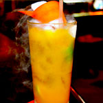 Smoked Pumpkin Caipirinha