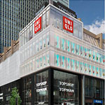 A Giant Uniqlo Store on Michigan Ave