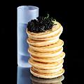 Doing Caviar Shots at David Burke's