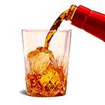 Listening to Music. Drinking Bourbon.