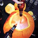 They've Got Giant Pumpkins Full of Beer