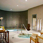 Cold Plunge Pool at the Four Seasons Spa